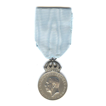 Royal Jubilee Medal on the Occasion of the Tercentenary of the Swedish Settlement in Delaware