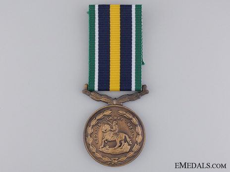 De Wet Medal Obverse