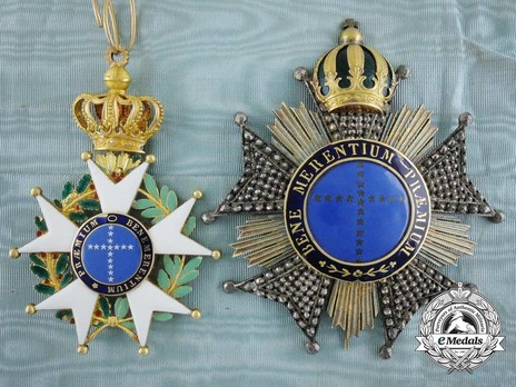 Dignitary Breast Star Details