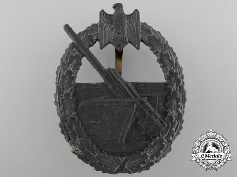Coastal Artillery War Badge, by Förster & Barth Obverse