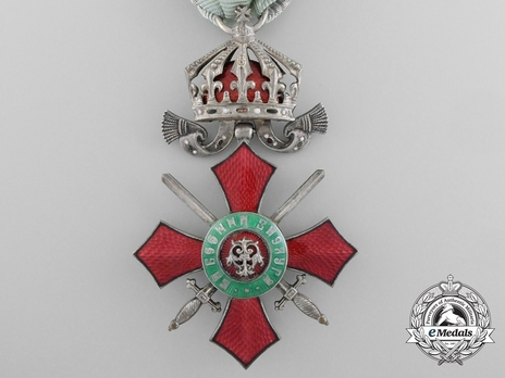 Order of Military Merit, V Class (with bravery ribbon 1912-1944)