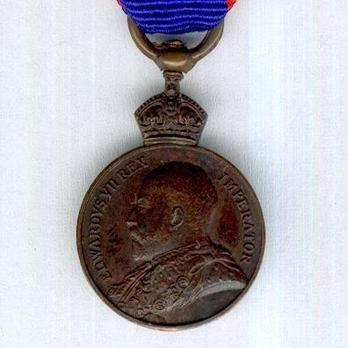 Miniature Bronze Medal (1901-1910) Obverse
