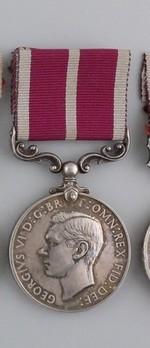 Silver Medal (George VI effigy) Obverse