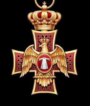 Order of the Eagle of Georgia, Knight Grand Cross Obverse