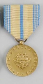 Bronze Medal (for Naval Reserve) Obverse