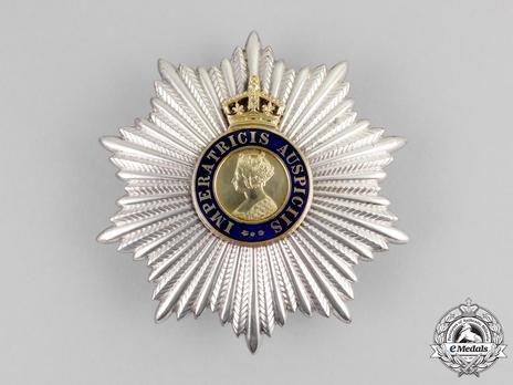 Knights Commander Breast Star (1886-1947) Obverse