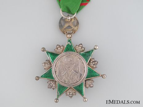 Order of Osmania, Civil Division, IV Class Reverse