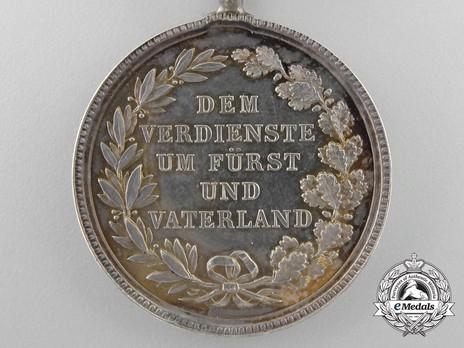 Merit Order of the Bavarian Crown, Silver Medal Reverse