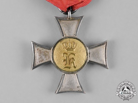 Reserve Long Service Decoration, Type I, I Class Cross (in silver gilt)