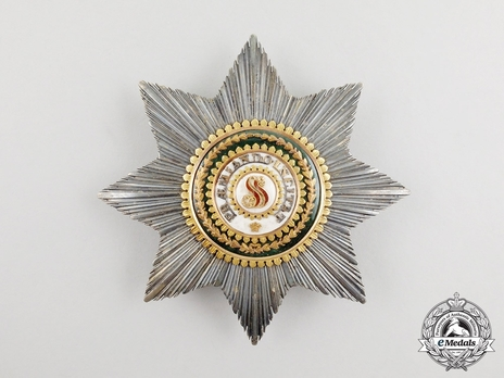 Order of Saint Stanislaus, Type I, Civil Division, I Class Breast Star (in gold)