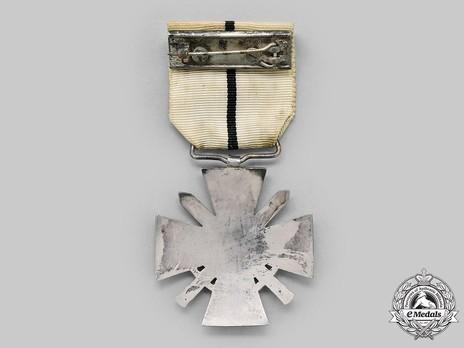 WWI Cross (1914-1918), VI Class Reverse