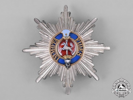 Dukely Order of Henry the Lion, I Class Breast Star Obverse