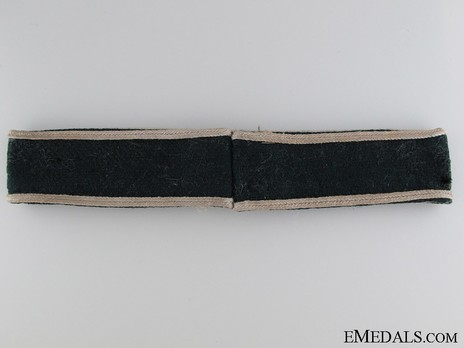 German Army Infanterie-Regiment List Cuff Title Reverse