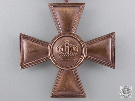 Military Long Service Cross, Type III, I Class for 15 Years Obverse