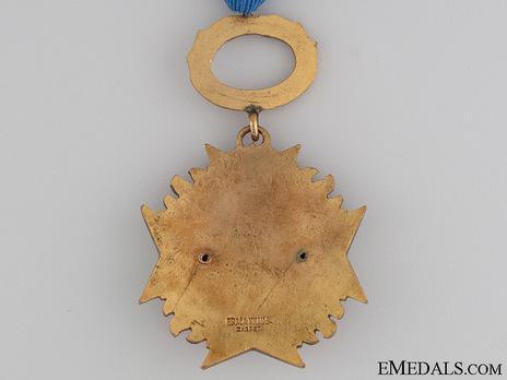 Gilt Medal Reverse