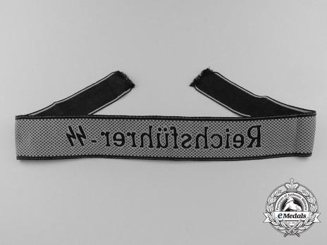 Waffen-SS Reichsführer-SS Cuff Title Reverse