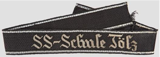 SS-Schule Tölz NCO/EM Cuff Title Obverse