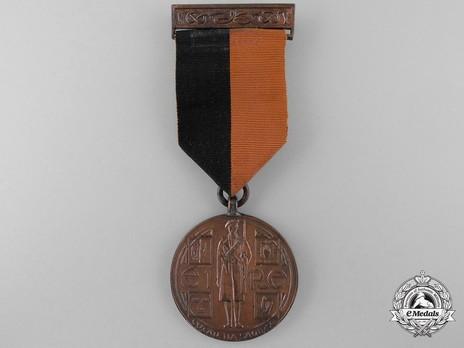 Service Medal (1917-1921), Bronze Obverse