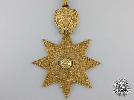 Order of the Star of Ethiopia, Commander Obverse
