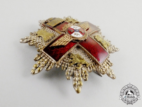 2nd Class Breast Star (red distinction) Obverse