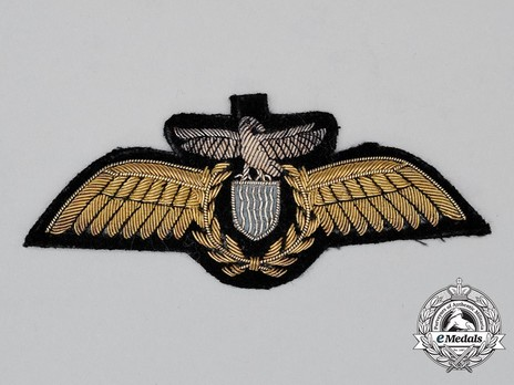 Air Force (ZAF) Pilot's Wing Obverse