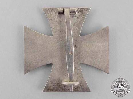 Iron Cross I Class, by B. H. Mayer (26, Type A pin) Reverse