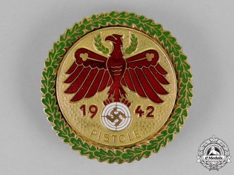 Champion Badge (for rifle) Obverse
