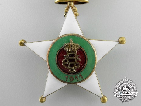 Order of the Colonial Star of Italy, Grand Officer's Cross Obverse