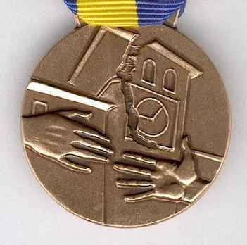 Commemorative Medal for the Earthquake Rescue Operation in Friuli 1976 Obverse