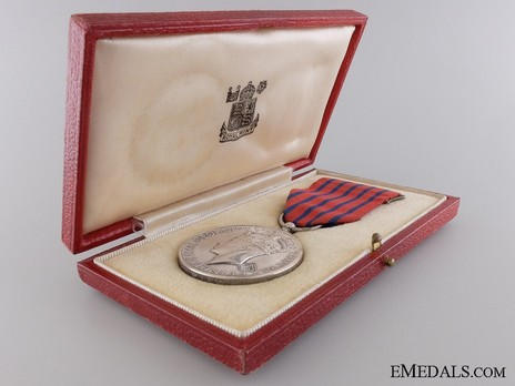 Silver Medal (1940-1948) in Case of Issue