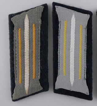 Kriegsmarine Coastal Artillery NCO/EM Collar Tabs Obverse