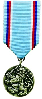 Medal of the Army of the Czech Republic, I Class Medal Obverse