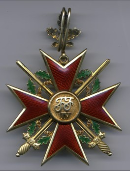 Order of the Griffin, Military Division, Grand Cross Obverse