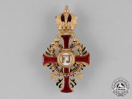 Order of Franz Joseph, Type I, Officer (in bronze gilt)