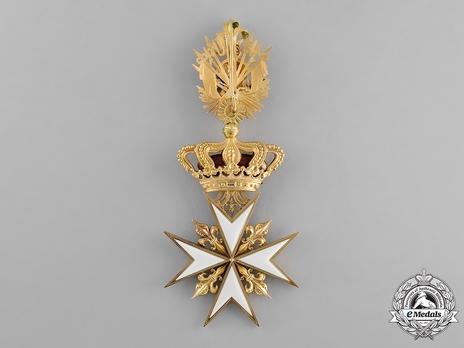 Professed Grand Cross (in gold) Reverse