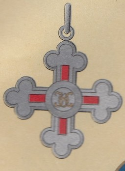 Cross (in silver gilt, for Men)
