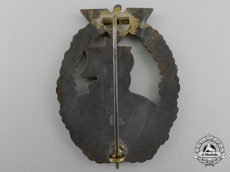 Naval Auxiliary Cruiser War Badge, by F. Orth Reverse