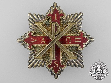 Constantinian Order of St. George, Knight Commander Breast Star Obverse