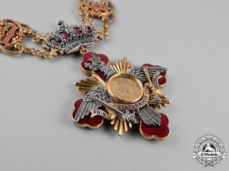 Order of Carol I, Collar Obverse