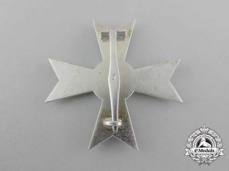 War Merit Cross I Class without Swords, by Deschler (1) Reverse