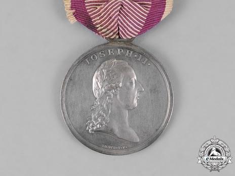 """Bravery Medal """"DER TAPFERKEIT"""", Type I, Silver Medal"""