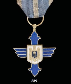 Order of Aeronautical Virtue, Type I, Military Division, Officer's Cross