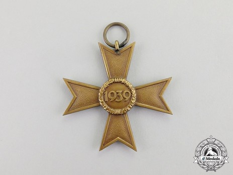 War Merit Cross II Class without Swords (by Deschler) Reverse