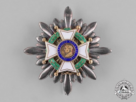II Class Grand Cross Breast Star Obverse