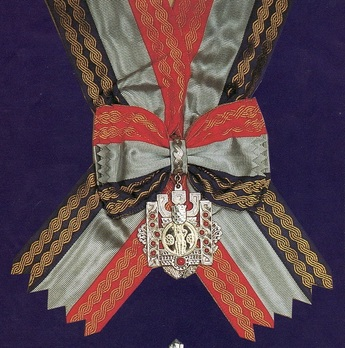 Grand Order of King Tomislav with Sash and Great Morning Star, Badge Obverse
