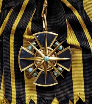 Order of the Star of Brabant, I Class Grand Commander with Turquoise
