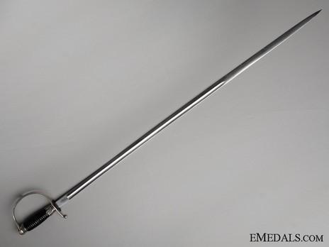Allgemeine SS NCO Sword Reverse