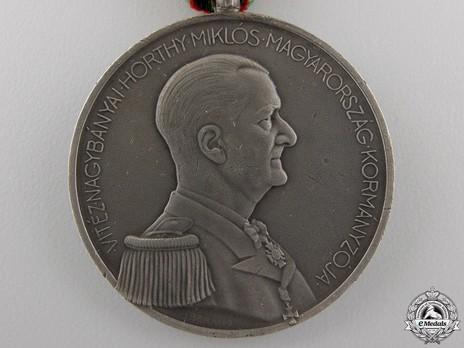 Bravery Medal, Silver Medal Reverse
