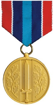 Medal for Defence Service Abroad (General Service) Obverse