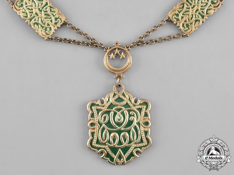 Collar of Fouad I, Collar Reverse